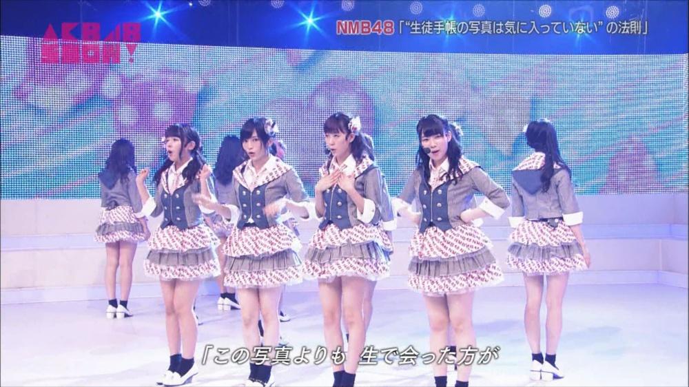 AKB48SHOW NMB48生徒手帳の写真は気に入ってないの法則 20140816 (61)_R