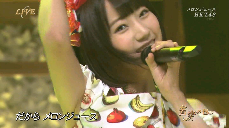 音楽の日 宮脇咲良AKB48 HKT48 20140802 (11)