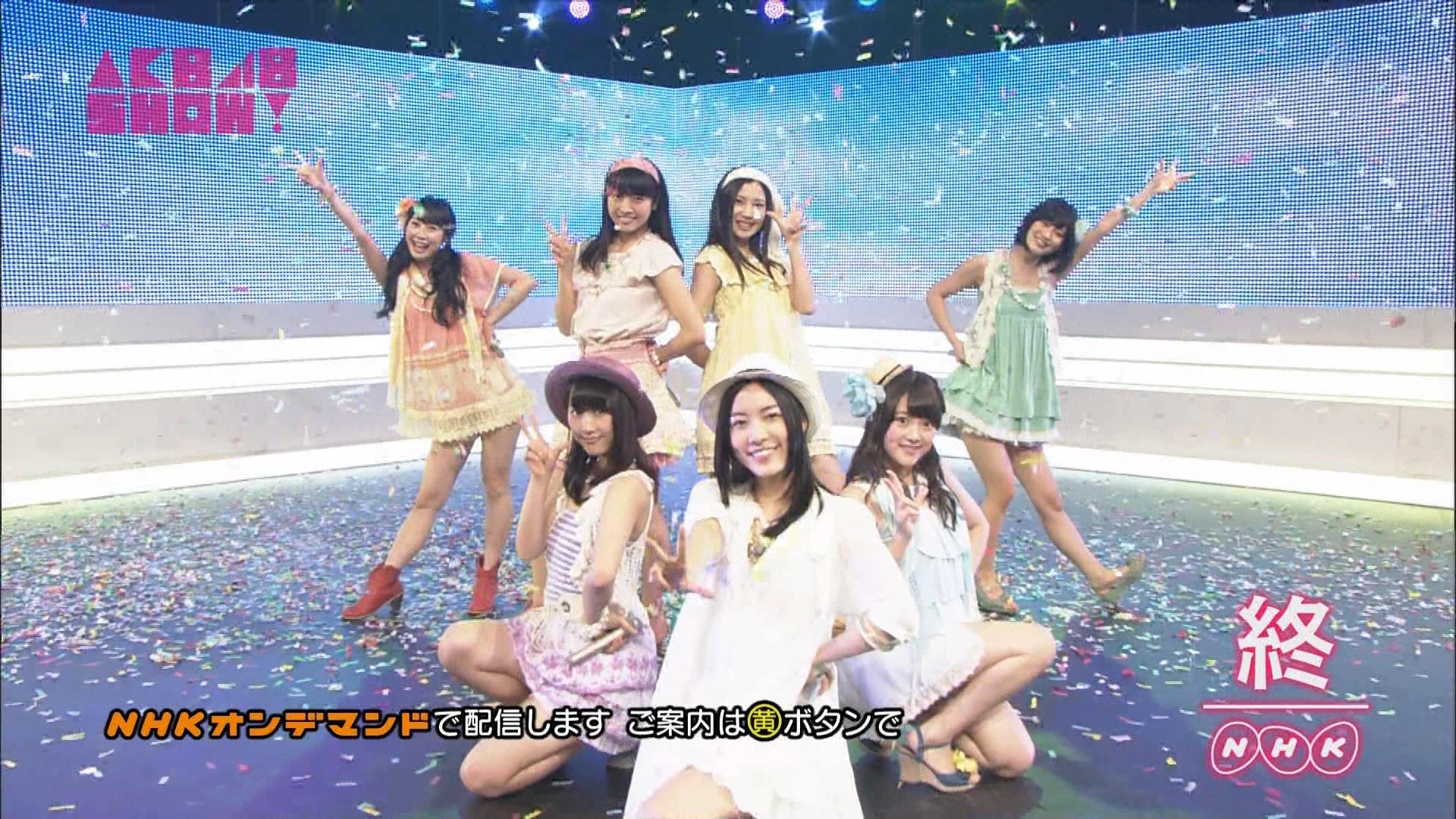 AKB48SHOW ごめんね、SUMMER 松井玲奈 20140830 (19)