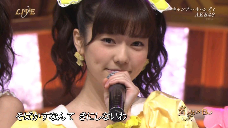 音楽の日 AKB48 キャンディ・キャンディ 20140802 (6)