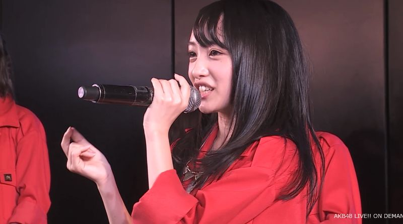 AKB48向井地美音 チーム4公演 自己紹介 20140731 (5)