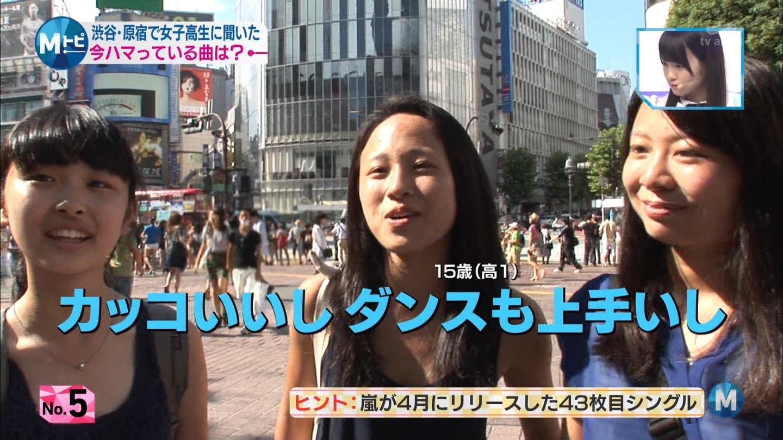 ミュージックステーション AKB48川栄李奈 心のプラカード 20140829 (4)