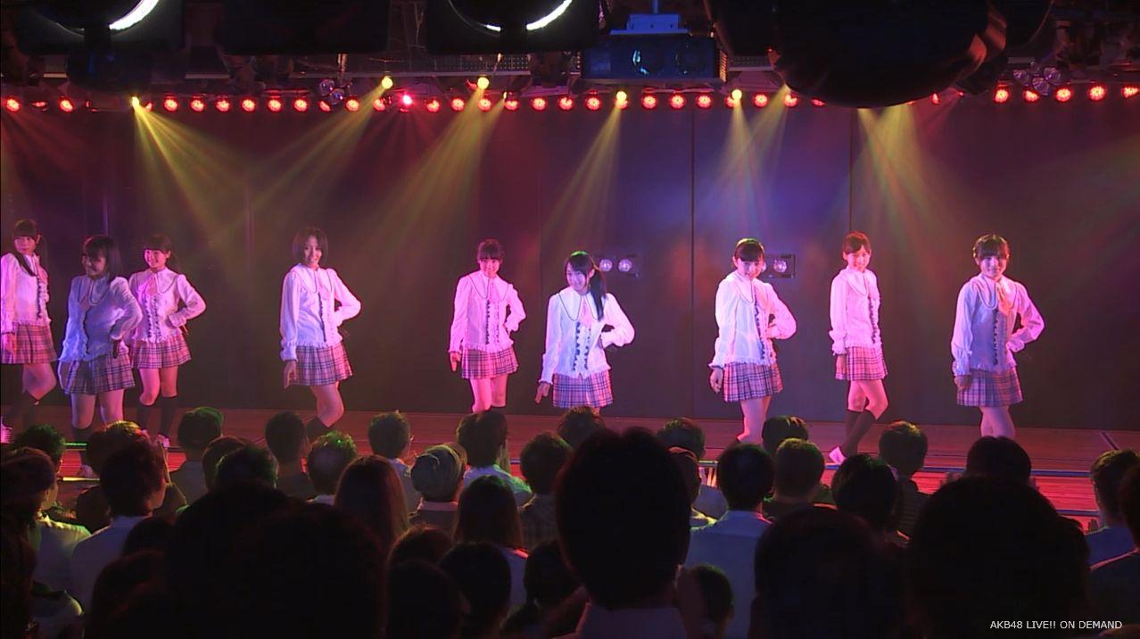 チーム8坂口渚沙 劇場公演デビュー 20140806 (13)