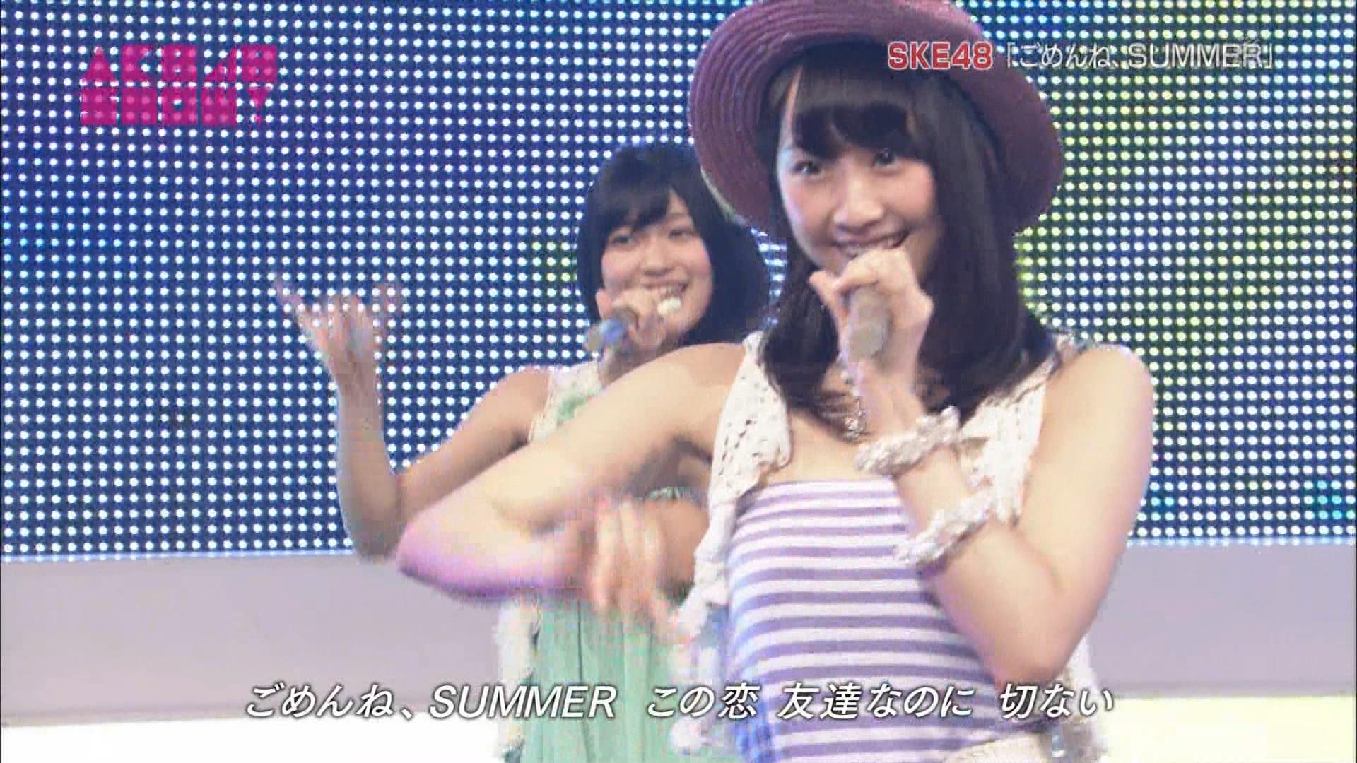 AKB48SHOW ごめんね、SUMMER 松井玲奈 20140830 (9)
