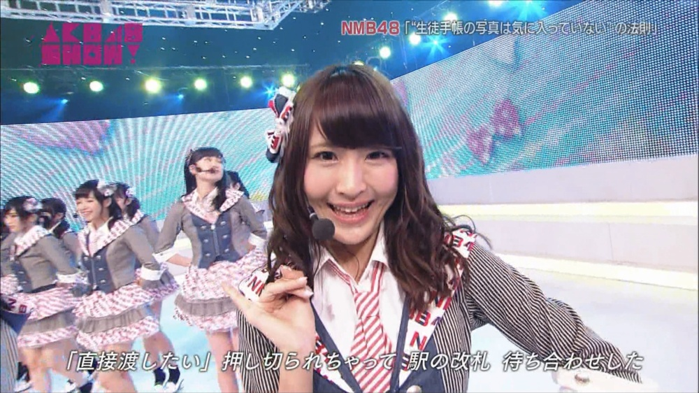 AKB48SHOW NMB48生徒手帳の写真は気に入ってないの法則 20140816 (42)_R