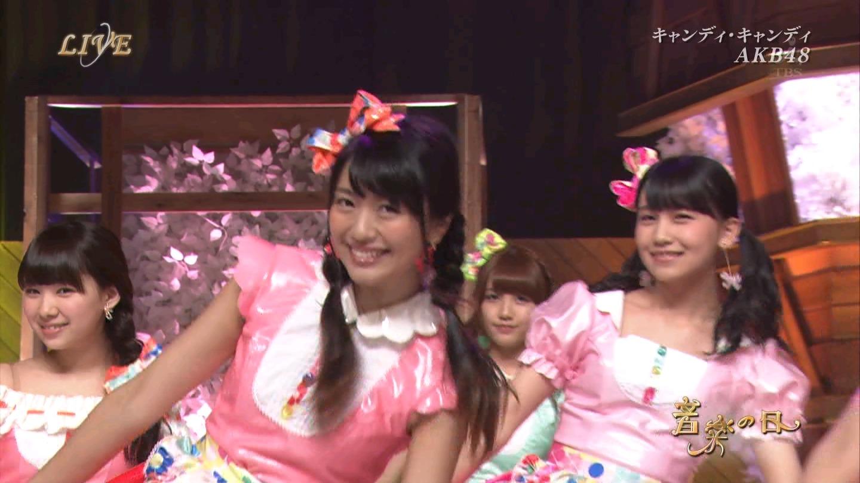 音楽の日 AKB48 キャンディ・キャンディ 20140802 (28)