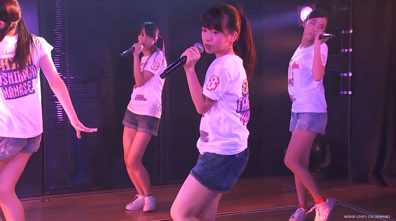 AKB48チーム8 スカートひらり 20140805 (18)