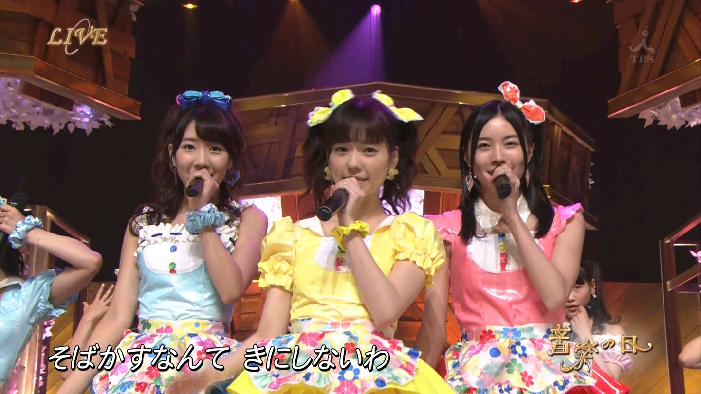 音楽の日 AKB48 キャンディ・キャンディ 20140802 (3)