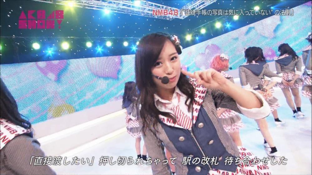 AKB48SHOW NMB48生徒手帳の写真は気に入ってないの法則 20140816 (41)_R