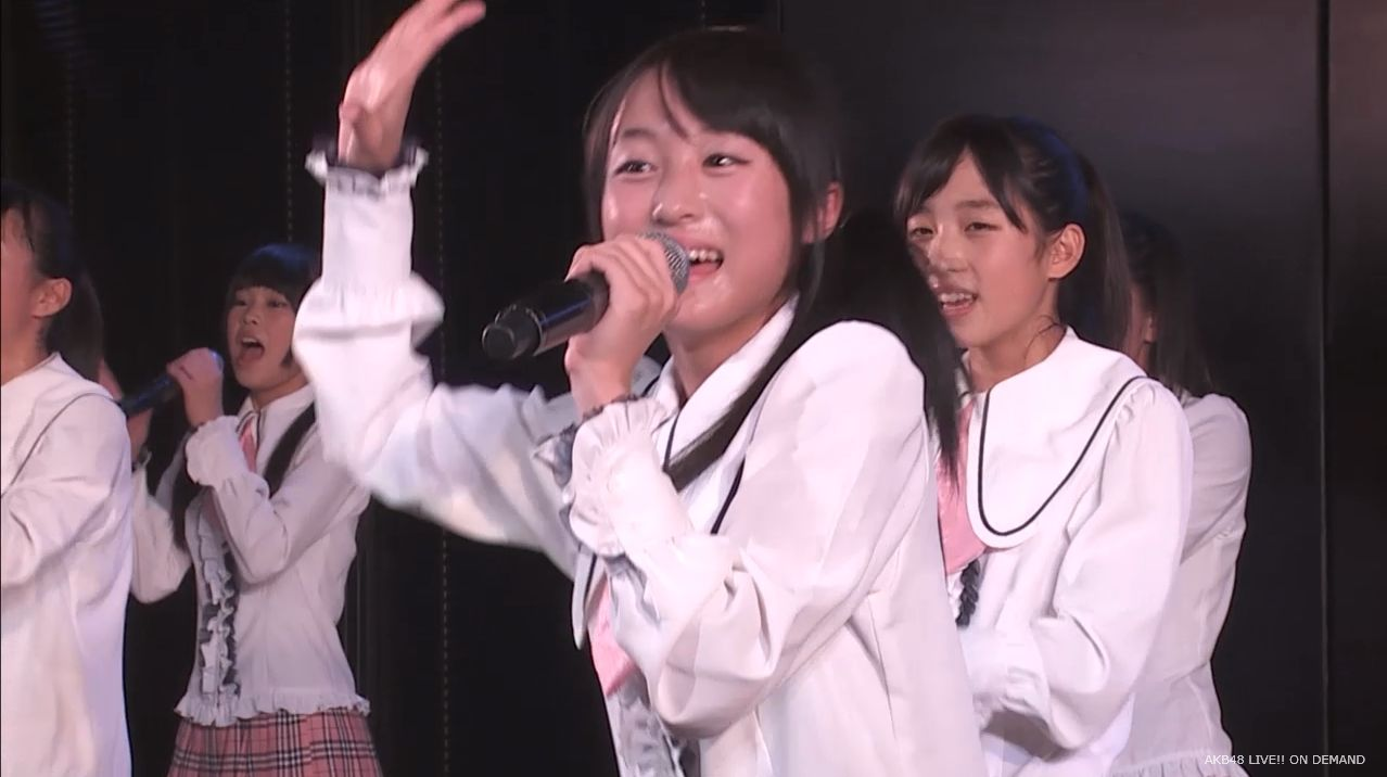 チーム8坂口渚沙 劇場公演デビュー 20140806 (18)