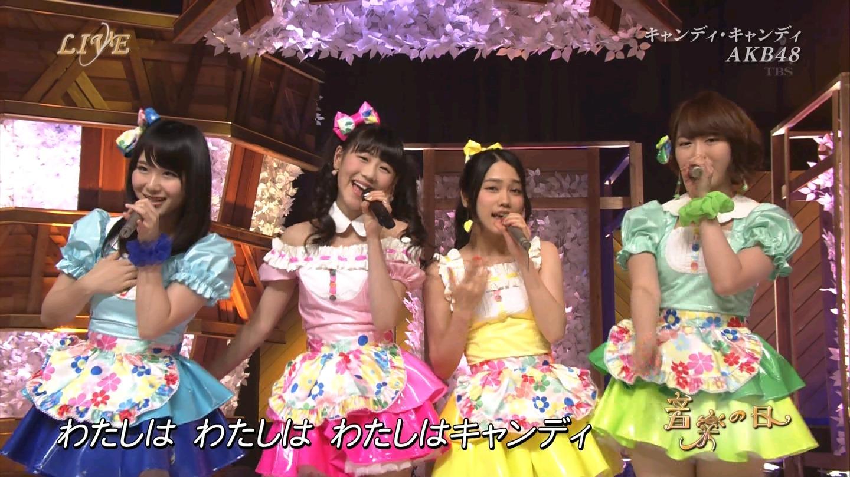 音楽の日 AKB48 キャンディ・キャンディ 20140802 (47)