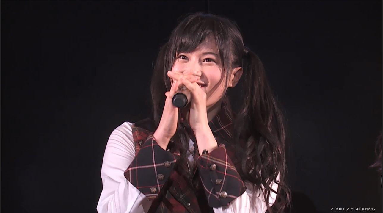 AKB48 チームAツインテール公演 田北香世子 自己紹介&黒い天使 (2)