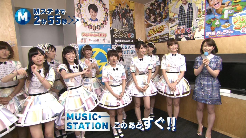 ミュージックステーション AKB48渡辺麻友 心のプラカード 20140829 (2)