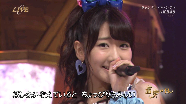 音楽の日 AKB48 キャンディ・キャンディ 20140802 (54)