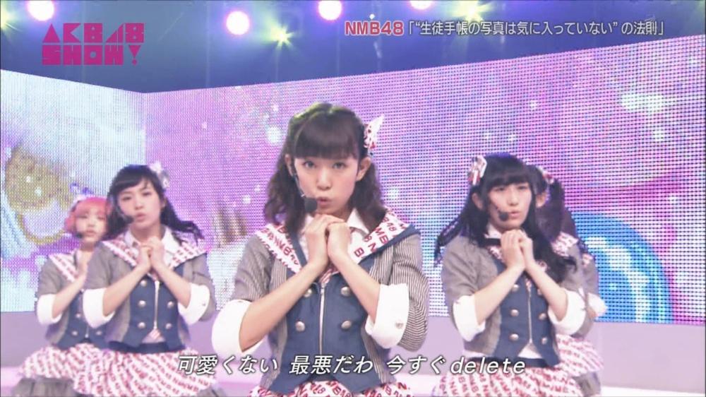 AKB48SHOW NMB48生徒手帳の写真は気に入ってないの法則 20140816 (53)_R