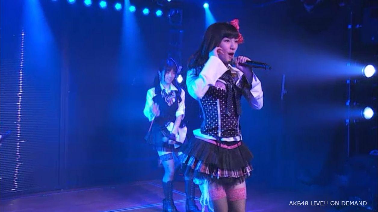 AKB48岡田奈々 口移しのチョコレート (34)