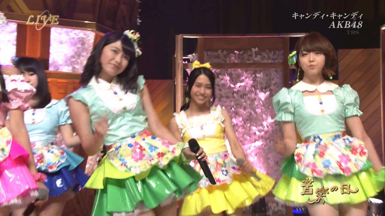 音楽の日 AKB48 キャンディ・キャンディ 20140802 (32)