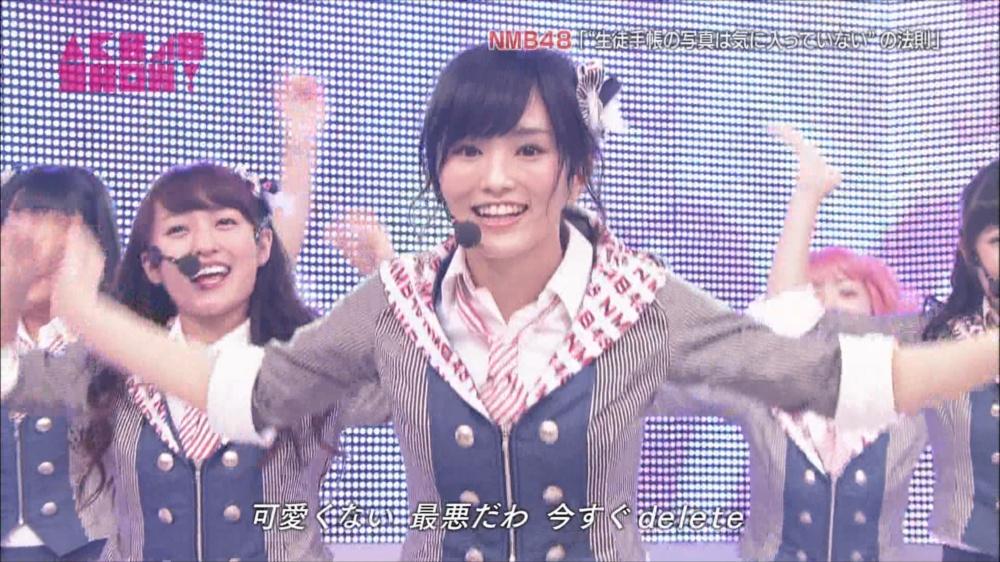 AKB48SHOW NMB48生徒手帳の写真は気に入ってないの法則 20140816 (55)_R
