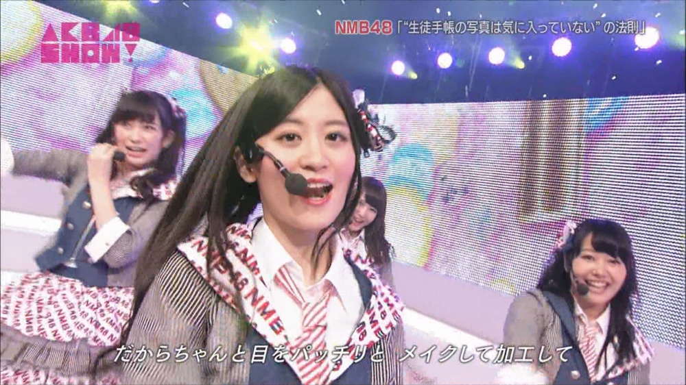 AKB48SHOW NMB48生徒手帳の写真は気に入ってないの法則 20140816 (24)_R