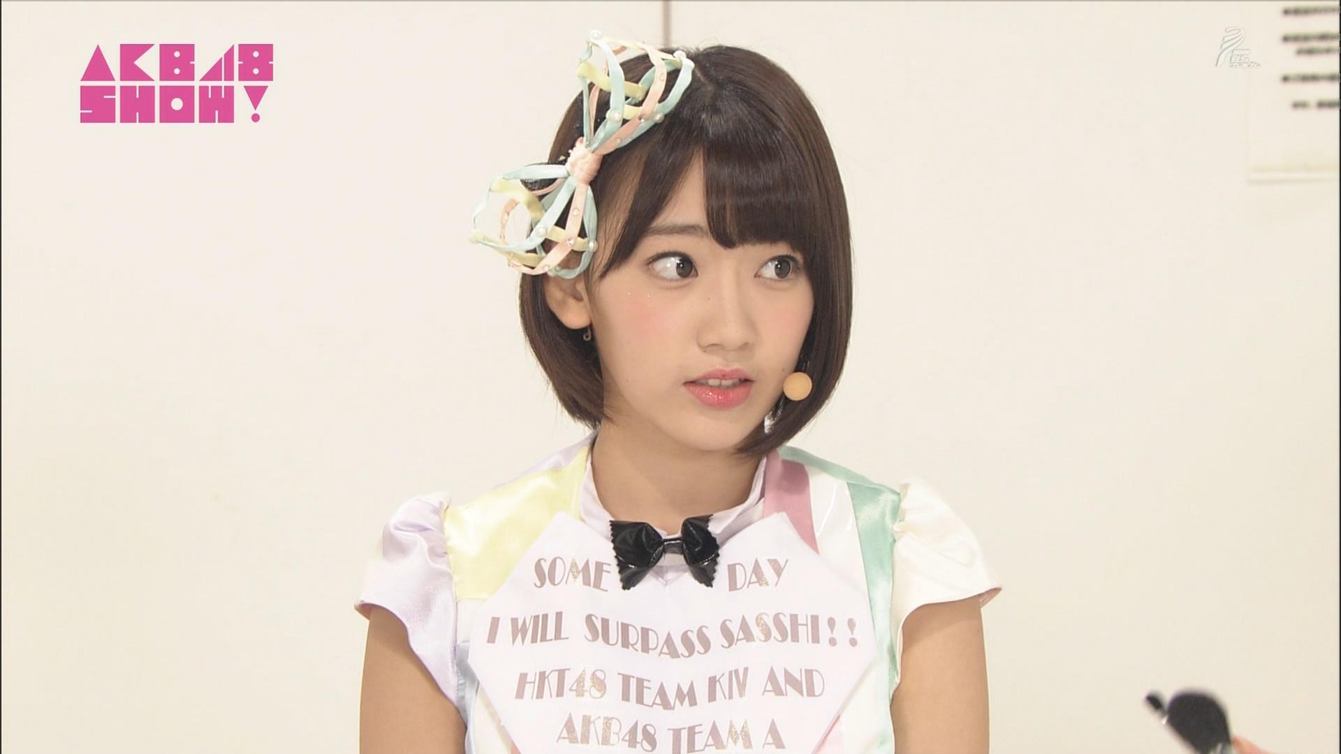 AKB48SHOW 心のプラカード 宮脇咲良 20140830 (1)