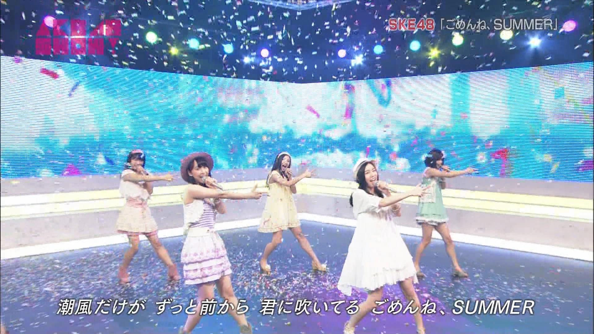 AKB48SHOW ごめんね、SUMMER 松井玲奈 20140830 (17)