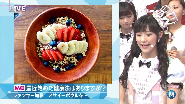 ミュージックステーション AKB48渡辺麻友 心のプラカード 20140829 (20)