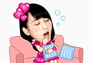 LINEスタンプAKB48 20