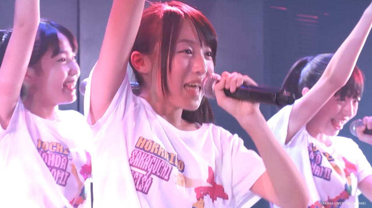 チーム8坂口渚沙 劇場公演デビュー 20140806 (123)