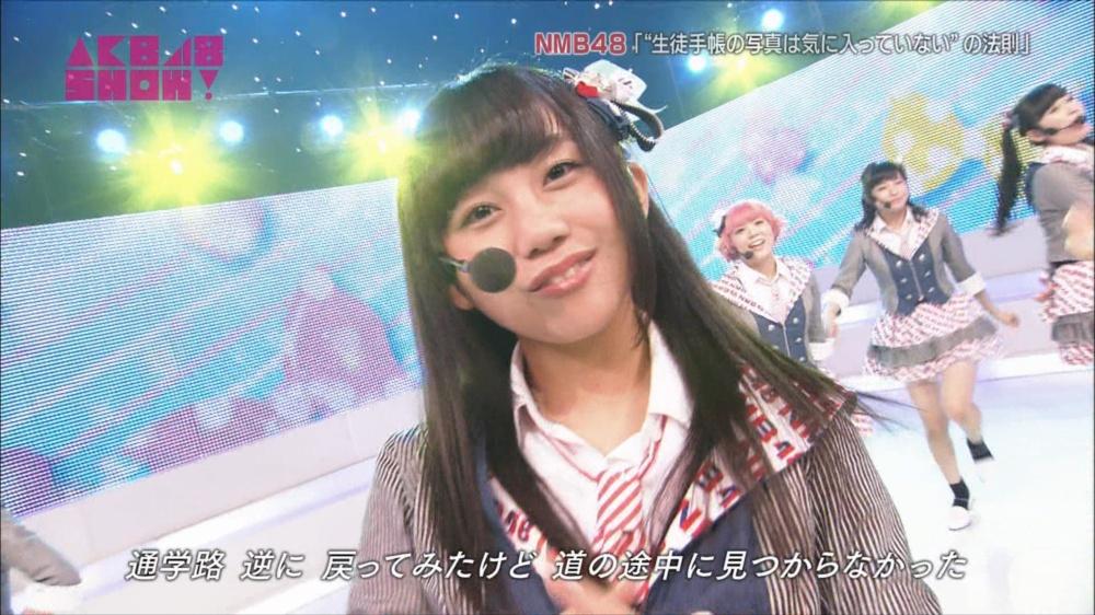 AKB48SHOW NMB48生徒手帳の写真は気に入ってないの法則 20140816 (16)_R