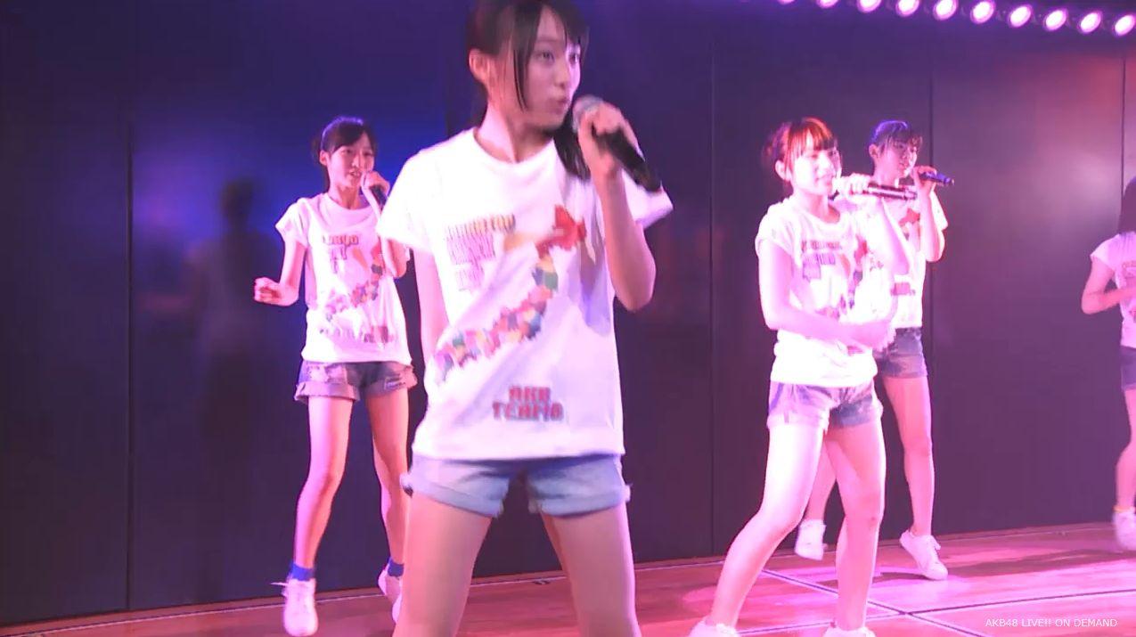チーム8坂口渚沙 劇場公演デビュー 20140806 (110)