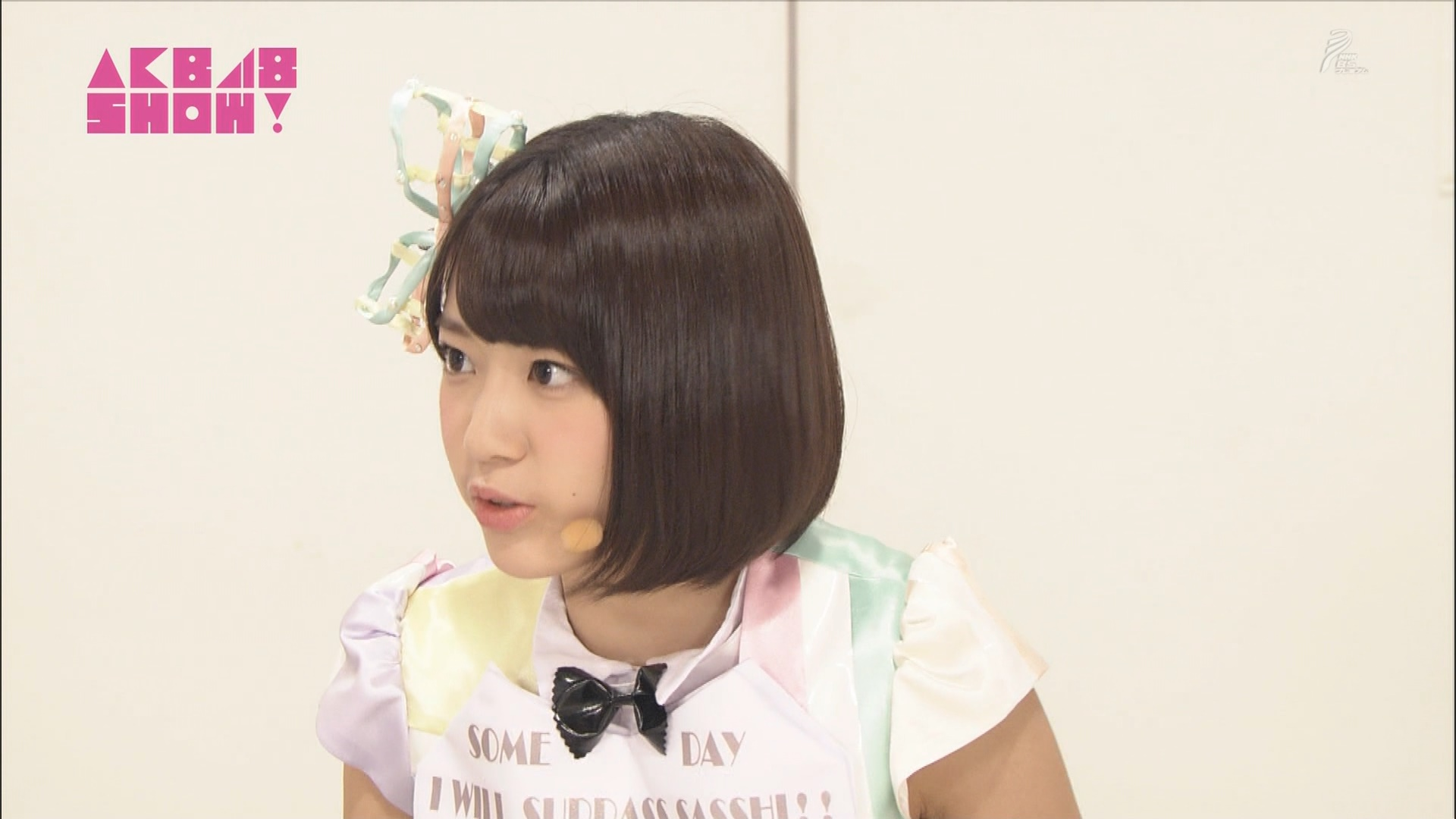 AKB48SHOW 心のプラカード 宮脇咲良 20140830 (8)