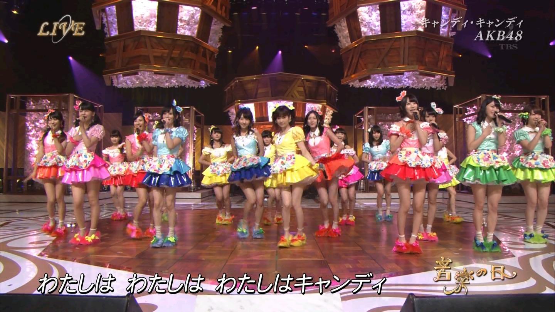 音楽の日 AKB48 キャンディ・キャンディ 20140802 (17)
