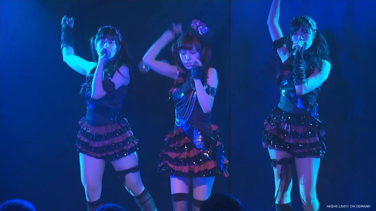 AKB48 チームAツインテール公演 田北香世子 自己紹介&黒い天使 (24)