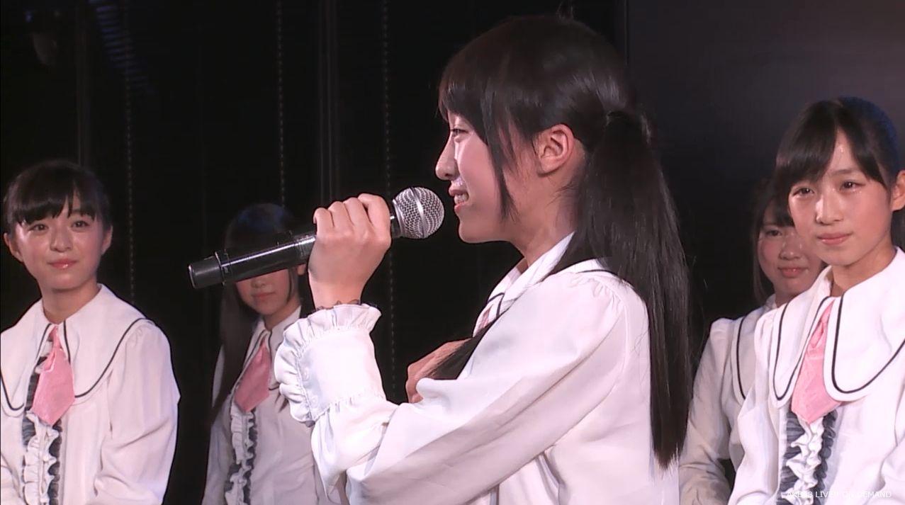 チーム8劇場公演 坂口渚沙 自己紹介MC (11)