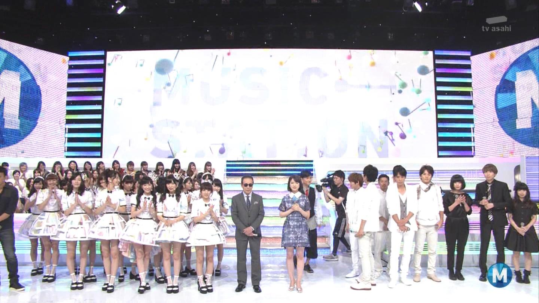 ミュージックステーション AKB48渡辺麻友 心のプラカード 20140829 (49)
