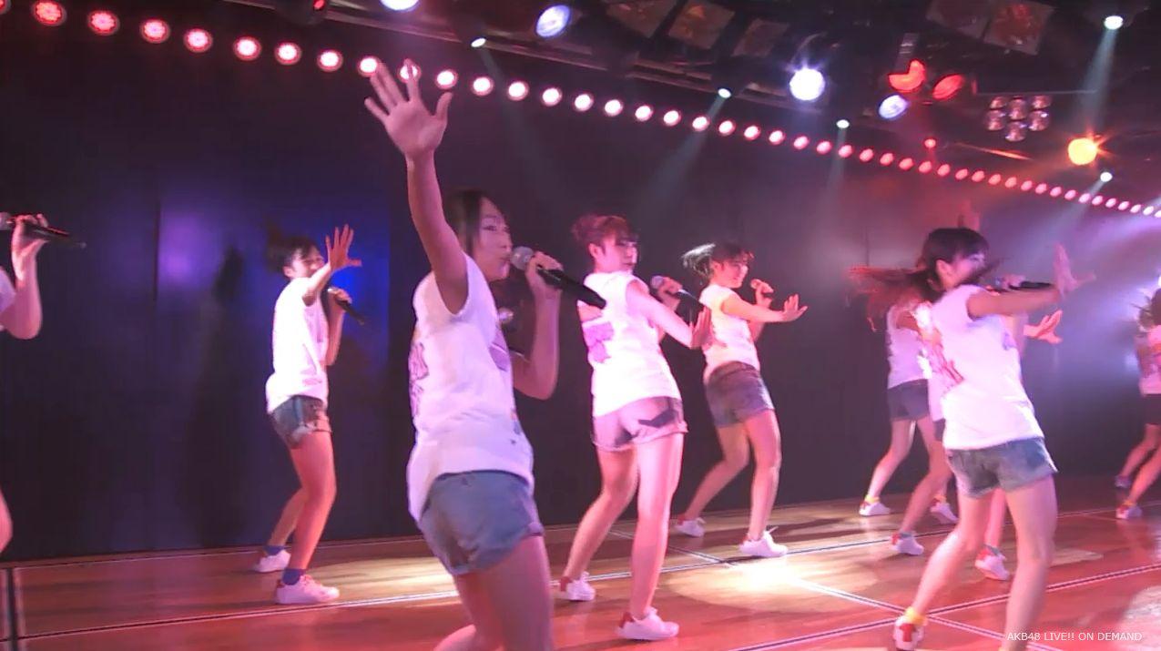 チーム8坂口渚沙 劇場公演デビュー 20140806 (115)
