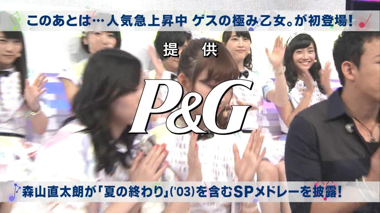 ミュージックステーション AKB48宮脇咲良 心のプラカード 20140829 (22)