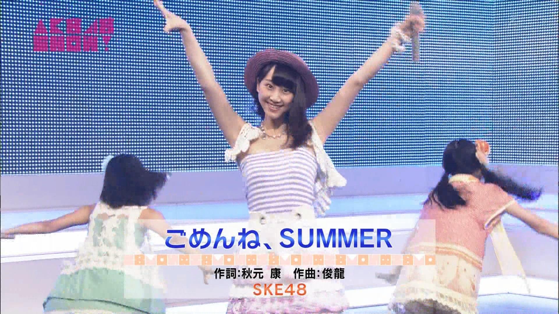 AKB48SHOW ごめんね、SUMMER 松井玲奈 20140830 (1)