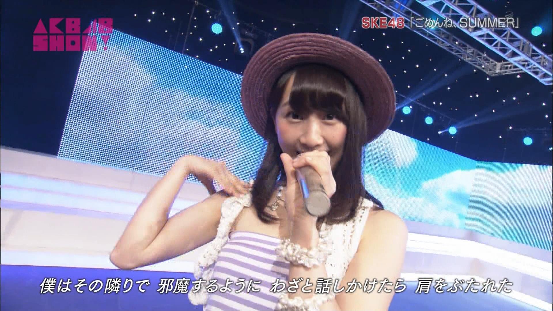 AKB48SHOW ごめんね、SUMMER 松井玲奈 20140830 (5)