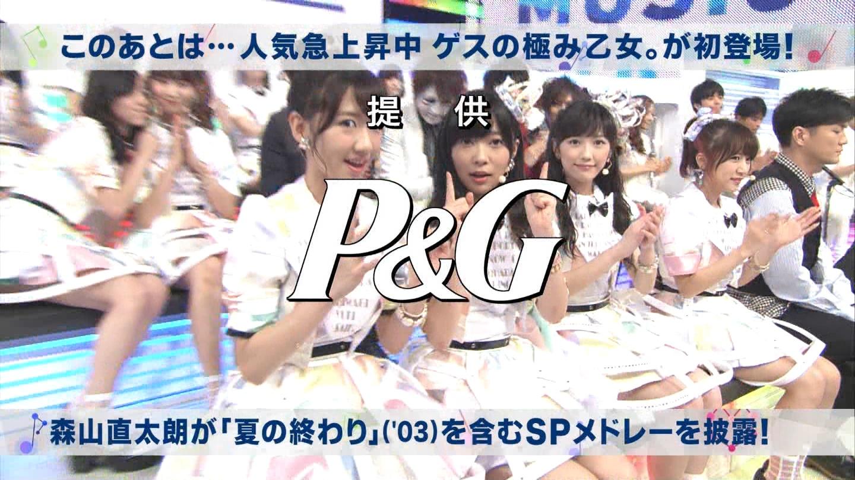 ミュージックステーション AKB48渡辺麻友 心のプラカード 20140829 (45)