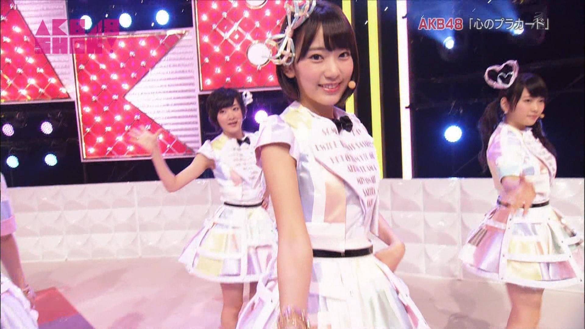 AKB48SHOW 心のプラカード 宮脇咲良 20140830 (18)