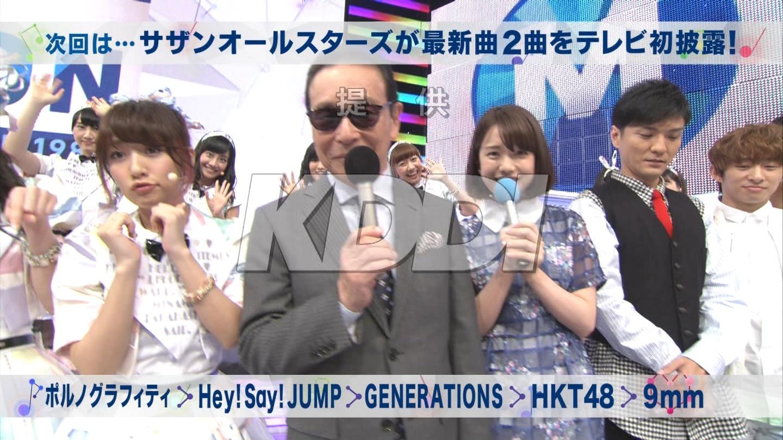 ミュージックステーション AKB48松井玲奈 心のプラカード 20140829 (22)