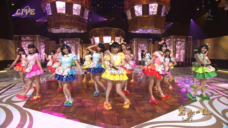 音楽の日 宮脇咲良AKB48 HKT48 20140802 (46)