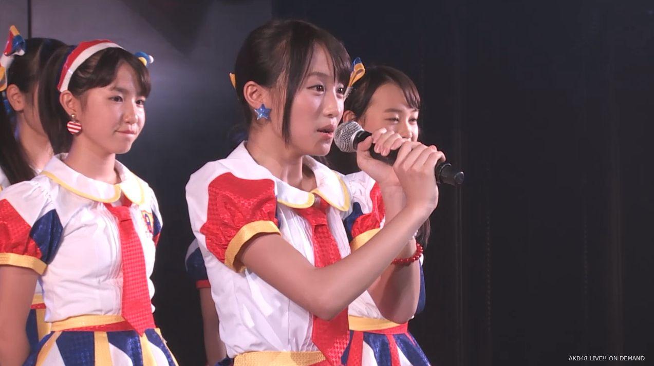 チーム8坂口渚沙 劇場公演デビュー 20140806 (133)