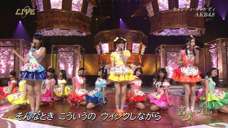 音楽の日 AKB48 キャンディ・キャンディ 20140802 (55)