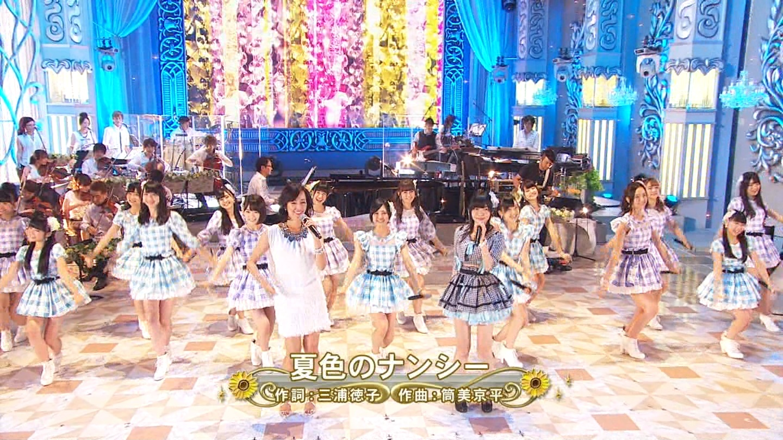 FNS 宮脇咲良 20140813  (3)