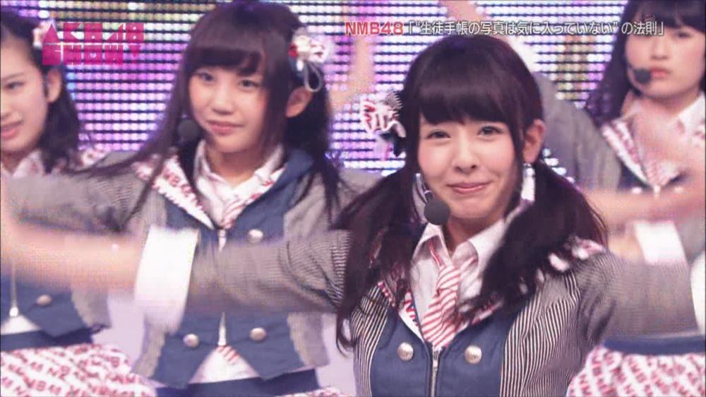 AKB48SHOW NMB48生徒手帳の写真は気に入ってないの法則 20140816 (34)_R