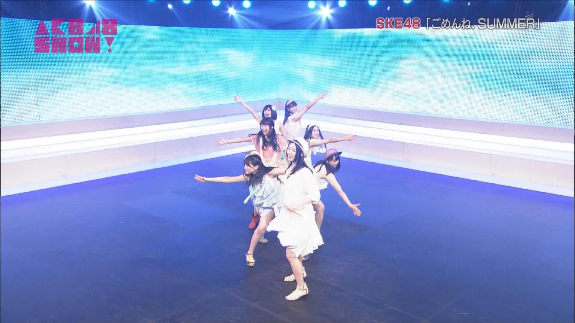 AKB48SHOW ごめんね、SUMMER 松井玲奈 20140830 (2)