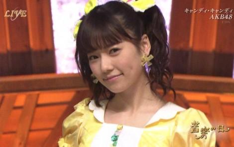 音楽の日 AKB48 キャンディ・キャンディ 20140802 (33)