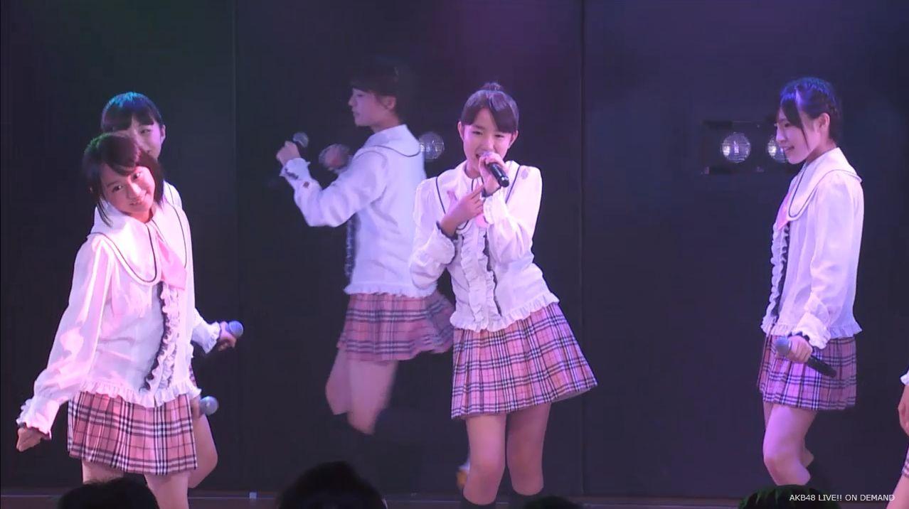 チーム8坂口渚沙 劇場公演デビュー 20140806 (6)